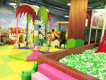 Jungle theme indoor playground (3)