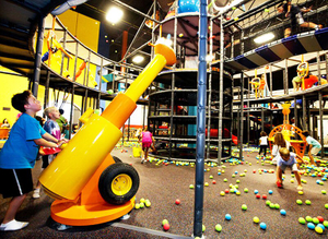 Pneumatic Gun of kids Indoor playground