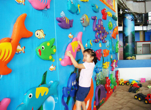 Climbing Wall of theme Indoor playground