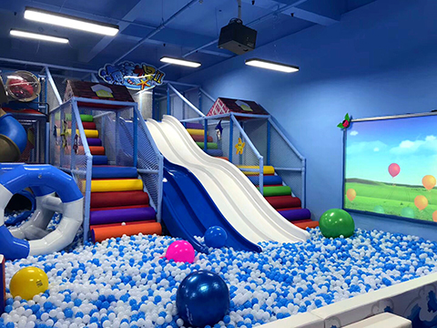 Ball Pit of Ocean theme indoor playground(1)