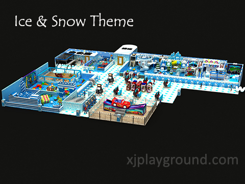 Ice & Snow Theme Kids Soft Indoor Playground - Shijiazhuang