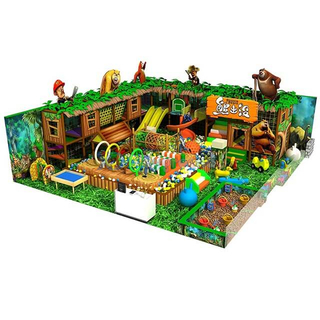 Jungle Theme Adventure Children Custom Soft Indoor Playground with Ball Pit