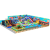 Ocean Theme Amusement Soft Play Structure with Trampoline and Slide