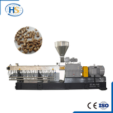 Wood Plastic Composite Granules Twin Screw Compounding Extruder