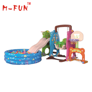 Colorful slide for kids