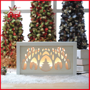 Blown Glass Plate Wall Decoration Wholesale Shadow Box Frames LED Deocration