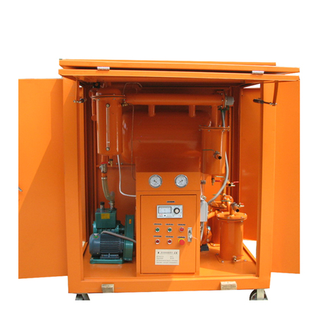 ZY-W fully enclosed vacuum insulating oil purifier