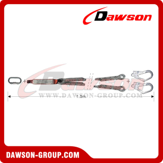 DS6112 Energy Absorbers Lanyards​ Safety Lanyards EN355 EN354