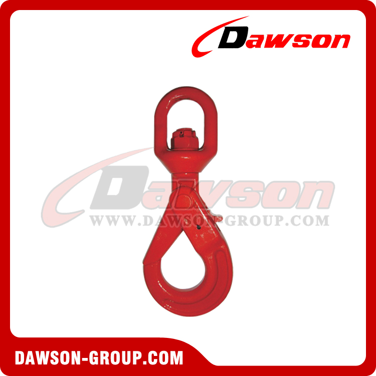 DS083 G80 European Type Swivel Selflock Hook for Chain Slings