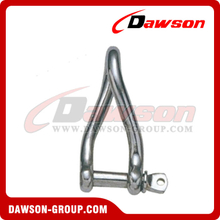 Stainless Steel Twist Shackle