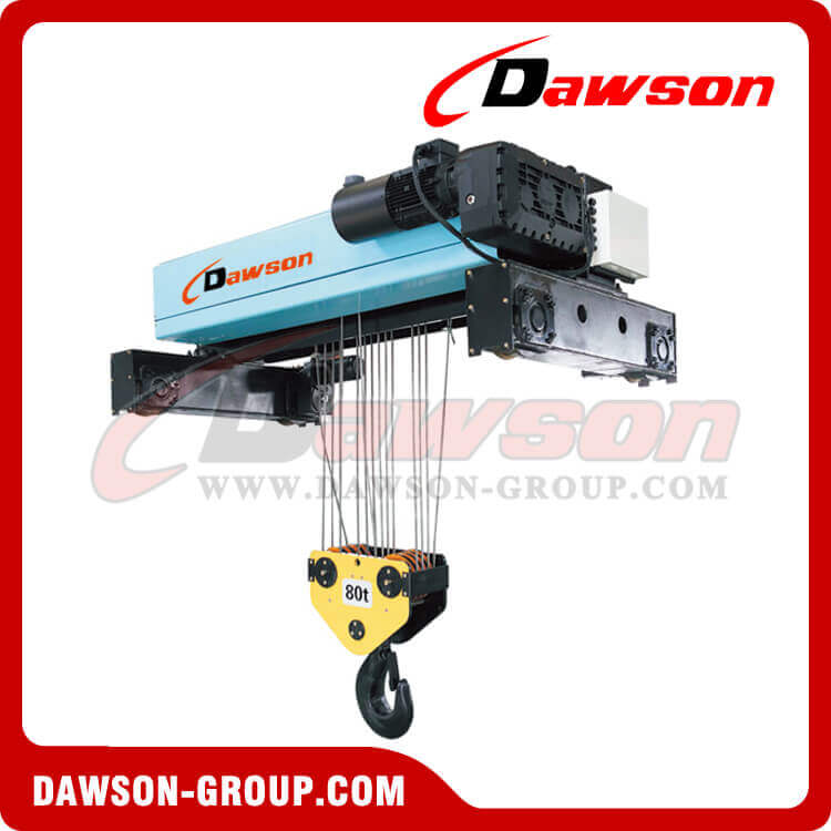 Double Girder Electric Wire Rope Hoist