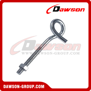 Screw With Nut Zinc Plated