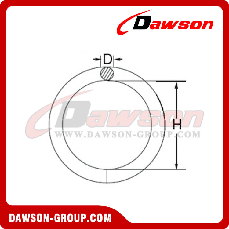 WELDED ROUND RING DAWSON-GROUP