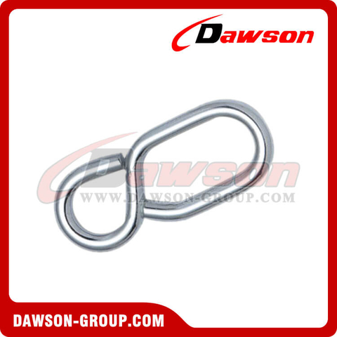Rope Shortening Without Tongue Zinc Plated