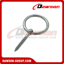 Stainless Steel Round Ring with Screw