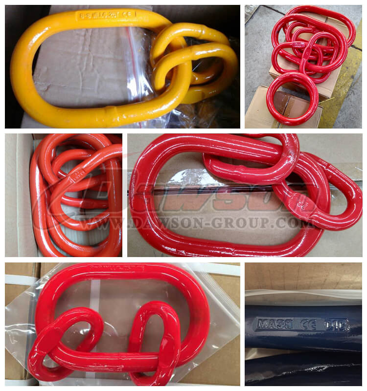 G80 U.S. Type Forged Master Link Assembly for Wire Rope Lifting Slings / Chain Slings - China Manufacturer, Supplier, Factory