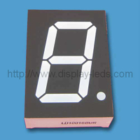 1'' single digit numeric Display with 1 LED per segment