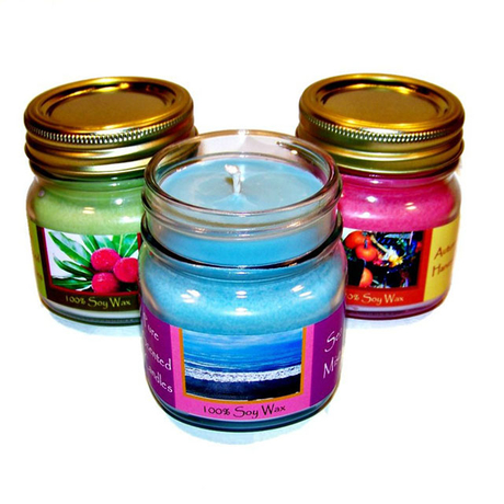 Mason Jar Candle Holder With Lid Various Glass Jars For Candle Holder Purposes From G Pack
