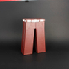 Wine Box Manufacturer Red Trouser Shape Leather wine accessory set