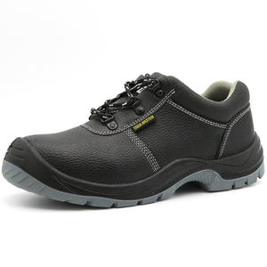 Low Ankle Anti Slip Steel Toe Puncture Proof Safety Shoes Black