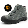 Oil Abrasion Resistant Pig Leather Fur Lining Winter Safety Shoes Steel Toe Cap
