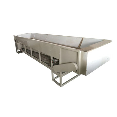Single layer tea withering Trough JY-6CWD6 with automatic discharging belt