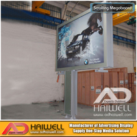 DSMP Scrolling System Scrolling Light Box Outdoor Advertising Billboard Factory