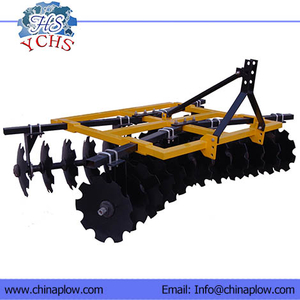 Opposed light disc harrow