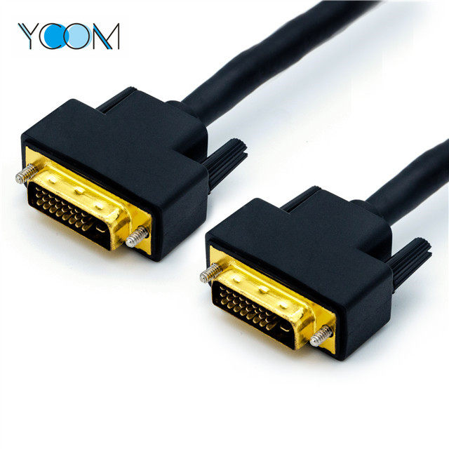 DVI Cable 24+1 Pin Male to Male