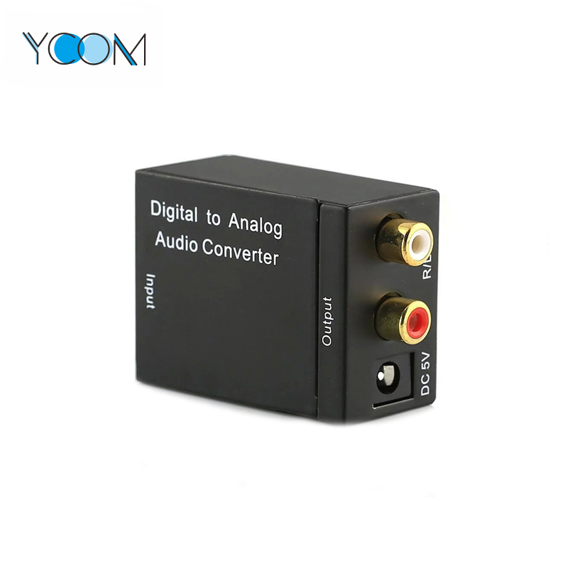 Digital to Analog Audio Converter with 3.5 MM