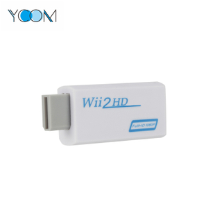 Adaptador de audio y video con salida convertidor de Wii a HDMI