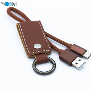 Leather USB Charging Cable for Type C