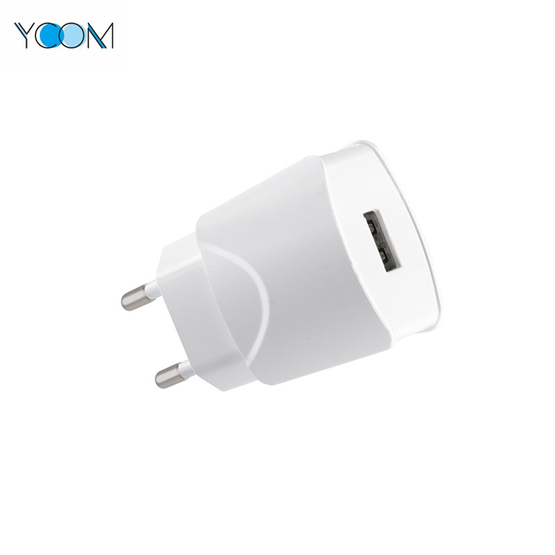 High Quality USB Wall Charger with Cable 5V 2.4A