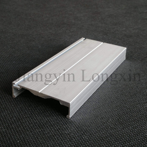 Silver Anodized Aluminum Profile for Door Frame