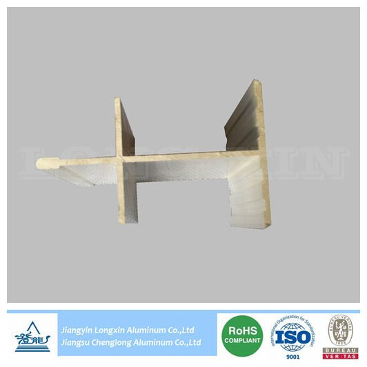Sliver Anodized Aluminum Profile for Construction