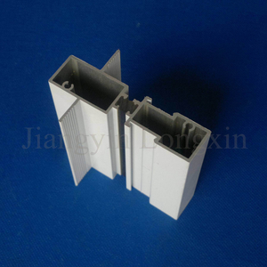 White Coated Aluminum Profile for Windows, Thermal Break