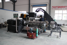 TSE-65 master batch extruder machine for filler and color masterbatch