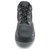 Have CE Black Leather Industrial Safety Boots Shoes for Work