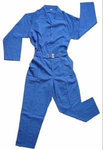 Cheap royal blue working safety coverall dubai