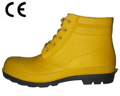 safety ankle rain boots for men