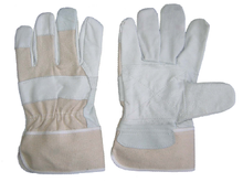1265 cow grain canvas cuff working gloves