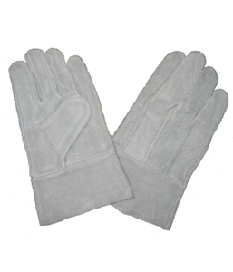 1301 cow split leather welding safety gloves unlined