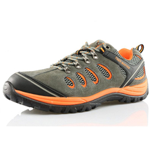 BTA002 PU Injection S1P SRC Standard Suede Leather Hiking Men Safety Shoes