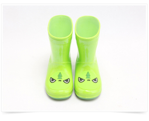 KRB-003 Colorful fashion waterproof kids pvc rain boot