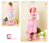 KRB-004 Pink cute unique waterproof girls rubber rain boot