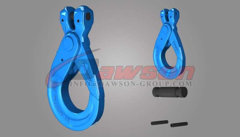 Grade 100 European Type Fortged Alloy Steel Clevis Self-Locking Hook - Dawson Group Ltd. - China Supplier, Factory