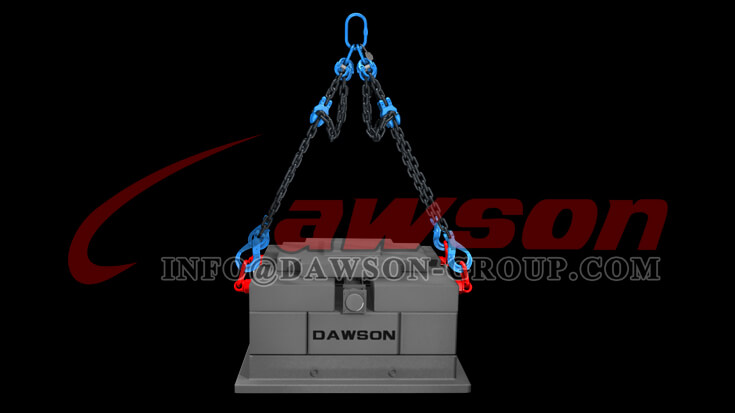 Application of G100 Forged Alloy Steel Clevis Chain Clutch with Safety Pin for Adjust Chain Length - Dawson Group Ltd. - China Supplier