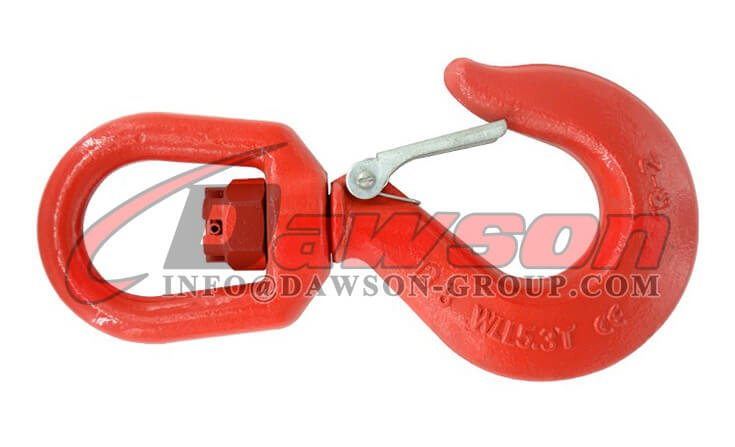 G80 Swivel Hook with Latch for Chain Slings - Dawson Group Ltd. - China Supplier