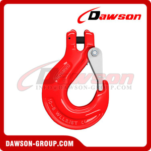 DS333 G80 Clevis Sling Hook with Cast Latch for Lifting Chain Slings