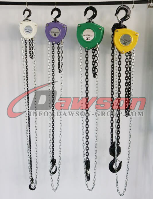 Chain Block, Chain Hoist - Dawson Group Ltd. - China Manufacturer, Factory
